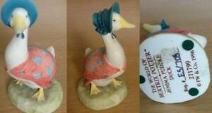 Pottery, Porcelain & Glass Szeiler Jemima Puddleduck Figurine
