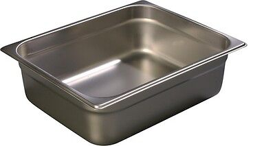 5 New Durapan 607124 Half Size Light Gauge Stainless Steel Steam Table Food Pan