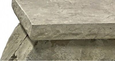 Chiseled Granite - Concrete Countertop Edge Form