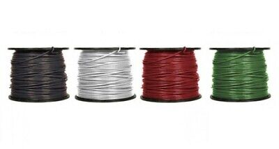 4 Awg Thhn Thwn-2 Stranded Copper Building Wire 600v Lengths 100ft To 1000ft