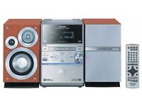 Panasonic Micro System with Built-In 5-Disc. DVD/CD Changer SC-PM39D