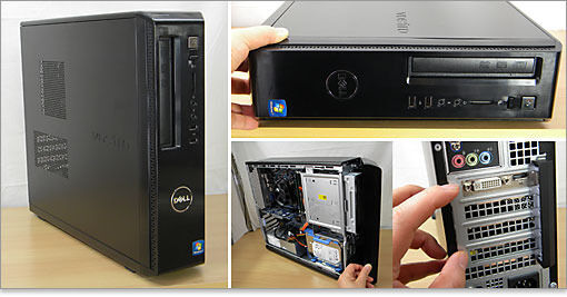 Dell i3-2120 3.33GHz desktop pc, slimline case, 250GB Hard drive, 8GB RAM, Windows 7 Pro - Bargain