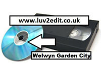 VHS Home Videos to DVD or MP4 USB We transfer family videos to DVD, or MP4 for computer devices £10