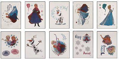 Frozen Tattoo (Disney Frozen Tattoos - Set of 10 Disney's Frozen Olaf, Elsa and Anna)