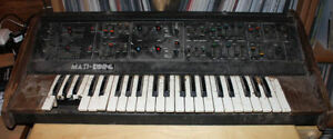 Unused/Broken Synthesizers and Keyboards  - Korg - Roland - Moog