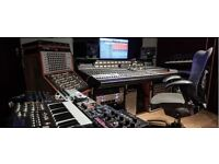 Classic / modern recording studio for hire in Central London - Fully equipped