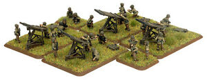 Flames of War Minis (Feild guns and Support Weapons)