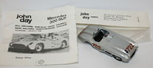 John Day Models 1/43 Scale White Metal - Mercedes 300 SLR #722 Moss Car