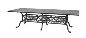 Grand Terrace 86″ x 42″ Rectangle  cast aluminum Table no chairs