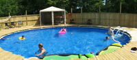 30' Round Pool with Heat pump
