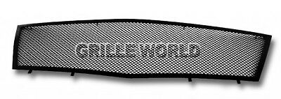 For 2008-2011 Cadillac CTS Black Stainless Steel Mesh Premium Grille