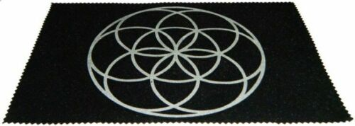 Large Velveteen Seed of Life Pendulum Dowsing Divination Mat Wiccan FREE SHIP