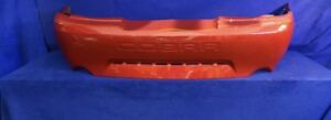 Ford Mustang Cobra OEM Rear Bumper Reo Red Fits 1999-2001 w/Cobra Lettering