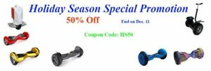 Smart Hoverboards/Scooters Special Promotion-50% OFF