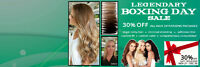 Pacific Hair Extension and Hair Loss' BOXING MONTH SALE