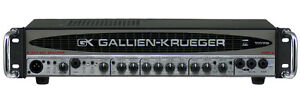 Gallien-Krueger 1001RB and Neo 1x15 Cab