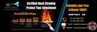 Mississauga / Peel Hood cleaning * Certified * NFPA 96 - Hydrosq