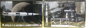 Apollo 11 and Saturn V Launch Vehicle1/144-scale reproduction