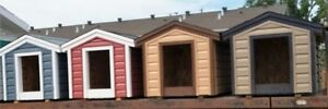 FULLY INSULATED DOG HOUSES
