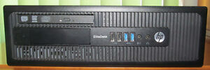 HP EliteDesk 800 G1 SFF with Windows7 &10 Dual System