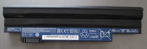 Original Acer AL10A31 Battery Taken from an Acer Aspire One
