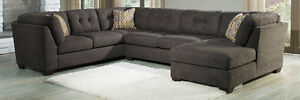 NEW Ashley Delta City Steel Sectional