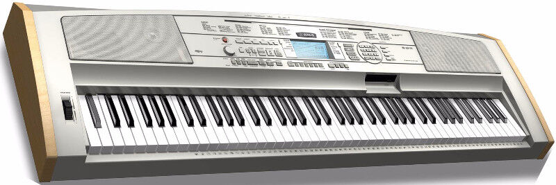 yamaha dgx 500 portable keyboard 88 note full piano seat mint pianos keyboards. Black Bedroom Furniture Sets. Home Design Ideas