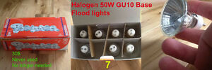 Halogen 50W GU10 Base Flood Lights