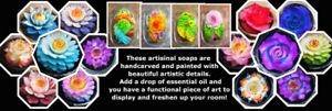 ATTENTION FLEA MARKET VENDORS! SELL UNIQUE BEAUTIFUL FLOWER SOAP