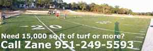 Recycled Sports Turf- 10,000 sq ft or more