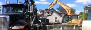 Need excavating done this fall? Let Omar's get it done!