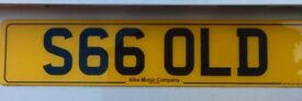 Cherished reg : S6 6OLD (GOLD)