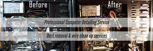 Computer Detailing Service Cleaning you Desktop & Laptops PC