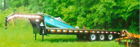 Kubota tractor-farm equipment-stock trailer-equipment trailer !!