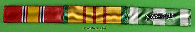 Vietnam War Service Mounted 3 Ribbon Bar