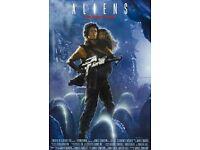Aliens VHS video