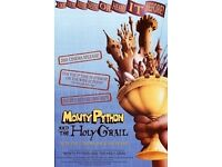 Monty Python & the Holy Grail VHS video