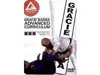 gracie barra advanced curriculum dvds - bjj brazilian jiu jitsu - POSTAGE AVAILABLE ufc mma tatami
