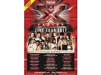 X Factor Live Tour 2017 tickets x 2 for Cardiff Motorpoint Arena