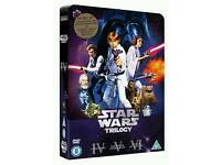 Star wars limited edition dvd tin box set