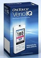 OneTouch Verio IQ  Test Machine with 100 Test Strips