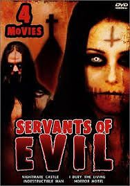 Servants Of Evil (4 Movies) DVDs