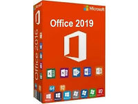 FULL MICROSOFT OFFICE 2019 INCLUDING PROJECT PRO, VISIO PRO, ONEDRIVE & SKYPE