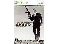 007 QUANTON SOLACE GAME FOR XBOX 360