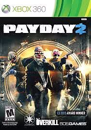 Pay day 2 xbox 360  $10 or trade for other game