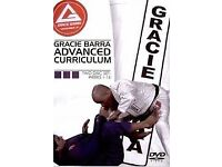 gracie barra advanced curriculum dvds - bjj brazilian jiu jitsu - POSTAGE AVAILABLE ufc mma tatami