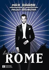 Max Raabe Live In Rome (ALL Region PAL DVD, 2010) Excellent Condition
