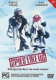 Spies Like Us (DVD, 2002) Chevy Chase, Dan Aykroyd