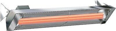 "Infratech 39"" 5000 Watt Dual Element Stainless Steel Patio H"