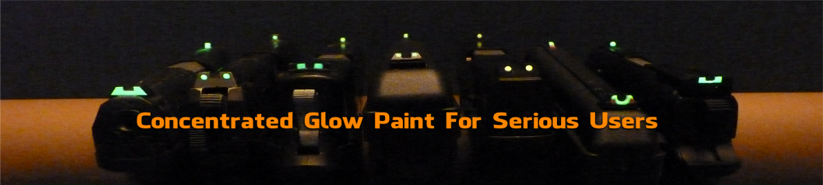 Glow-On Concentrated Glow Paint
